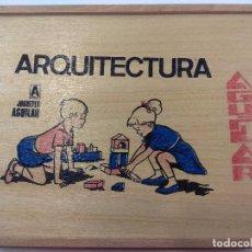 Juegos de mesa: ARQUITECTURA DE MADERA AGUILAR. Lote 104003327