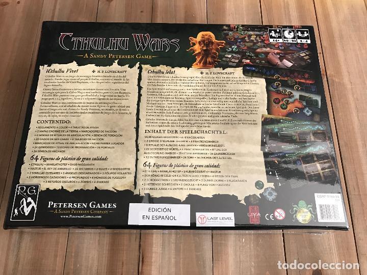 Juegos de mesa: juego de mesa - CTHULHU WARS - Edición Omega - Precintado - Ed. Limitada en español - Petersen Games - Foto 2 - 104182279