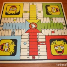 Juegos de mesa: TABLERO DE MADERA - JUEGO PARCHIS Y OCA - 34 X 34 CM. Lote 104310079