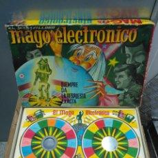 Juegos de mesa: JUEGO DE MESA MUY ANTIGUO MAGO ELECTRONICO COMPLETO CEFA. Lote 104500319