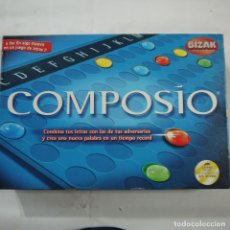 Juegos de mesa: COMPOSIO - BIZAK - 2003. Lote 104549443