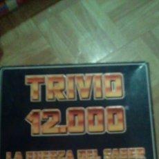Juegos de mesa: JUEGO TRIVIO 12.000 AÑOS 80 FALOMIR. Lote 104832692