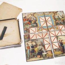 Juegos de mesa: JUEGO FRANCES DEL ASALTO DE FINALES DEL SIGLO XIX. LITH DE PELLERÍN, EDITEUR A EPINAL. Lote 104847443