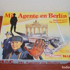 Juegos de mesa: MI AGENTE EN BERLÍN - NAC - JUEGO DE MESA - COMPLETO - 1984. Lote 105019903