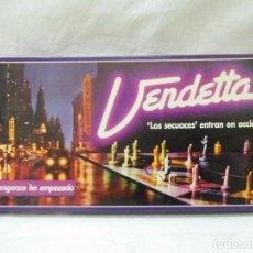 Juegos de mesa: M69 JUEGO VENDETTA DE BORRAS. LA VENGANZA HA EMPEZADO. AÑOS 80. NUEVO.. Lote 105057143