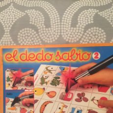 Juegos de mesa: JUEGO DE MESA EL DEDO SABIO 2 EDUCA 82 SIN USAR FEBER ANTIGUO,CEFA,DISET,DJECO,CLEMENTONI,HASBRO. Lote 105218895