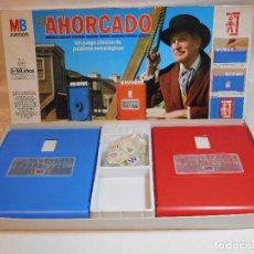 Juegos de mesa: JUEGO DEL AHORCADO MB. AÑOS 80. COMPLETO. EL ORIGINAL.. Lote 105235683