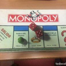Jeux de table: ANTIGUO JUEGO DE MESA -MONOPOLY BORRAS REF:6300-M AÑO 1985-FORMATO . Lote 106950096