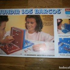 Juegos de mesa: JUEGO DE MESA HUNDIR LOS BARCOS DE FALOMIR. Lote 105355107