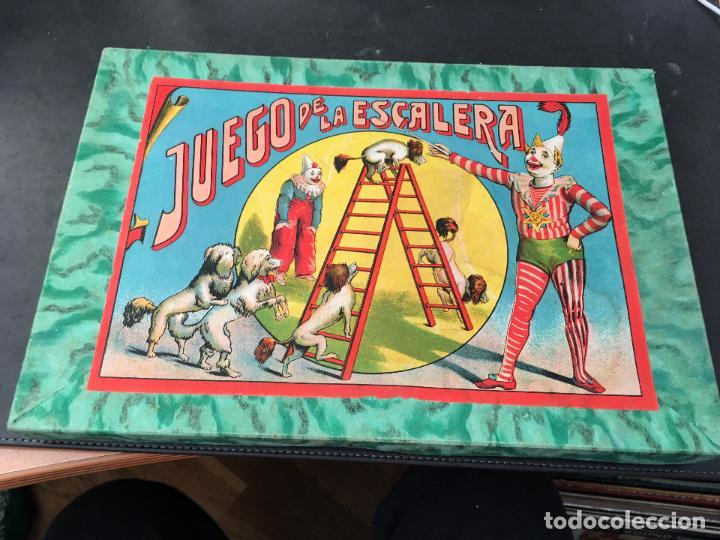 EL JUEGO DE LA ESCALERA . BORRAS. COMPLETO (J-0) (Juguetes - Juegos - Juegos de Mesa)