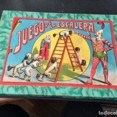 Juegos de mesa: EL JUEGO DE LA ESCALERA . BORRAS. COMPLETO (J-0). Lote 105372175