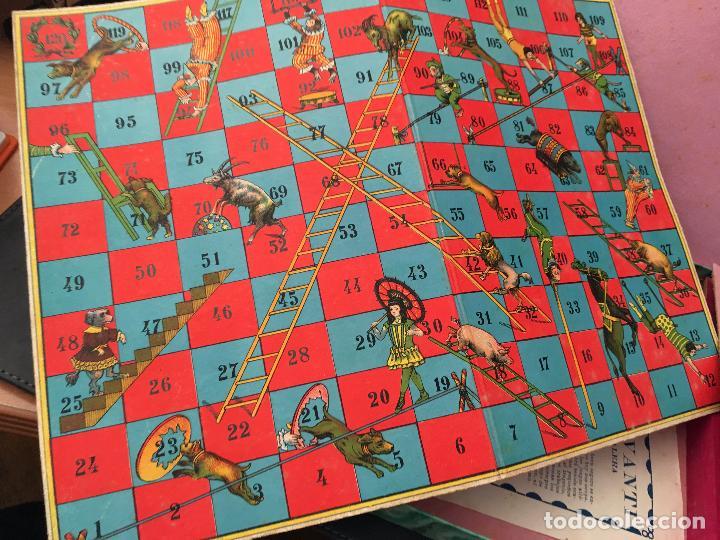 Juegos de mesa: EL JUEGO DE LA ESCALERA . BORRAS. COMPLETO (J-0) - Foto 2 - 105372175