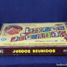 Juegos de mesa: JUEGOS REUNIDOS Nº 45 GEYPER CAJA CON INSTRUCCIONES COMPLETO CASI COMPLETO AÑOS 70 37X53CMS. Lote 105376919