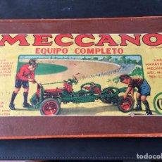 Juegos de mesa: MECCANO EQUIPO COMPLETO MODELO Nº 000 (J-0). Lote 105378855