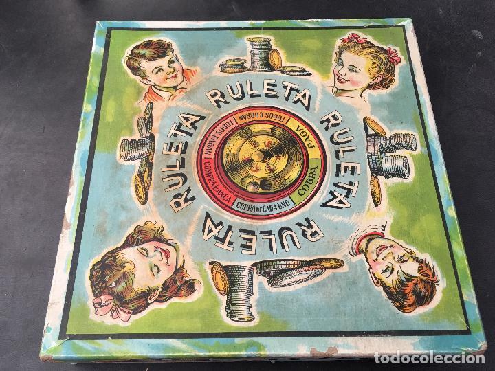 Ruleta Juguetes Borras Antiguo Juguete 21 X Comprar Juegos De