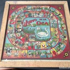 Juegos de mesa: TABLERO 25 X 25 DE LA OCA + PARCHIS . JUGUETES EKO. ANTIGUO (J-0). Lote 105383087