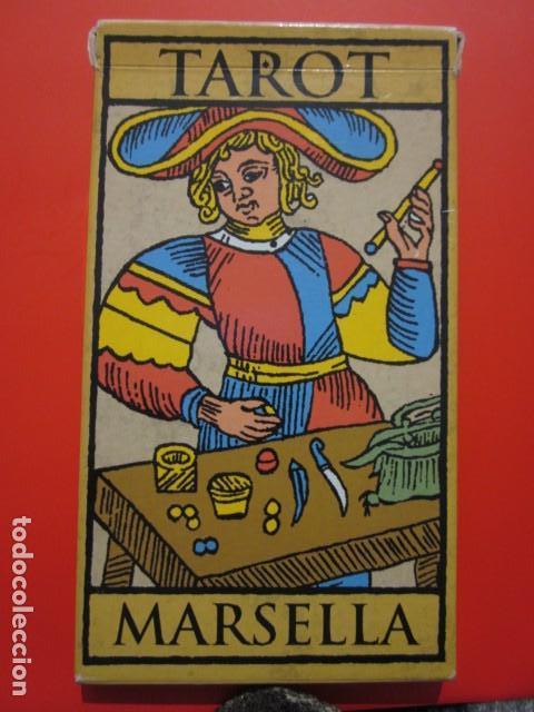 BARAJA TAROT MARSELLA CON SU CAJA 21 CARTAS (Juguetes - Juegos - Juegos de Mesa)