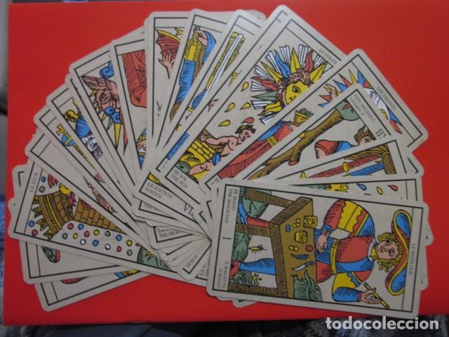 Juegos de mesa: BARAJA TAROT MARSELLA CON SU CAJA 21 CARTAS - Foto 2 - 105580979