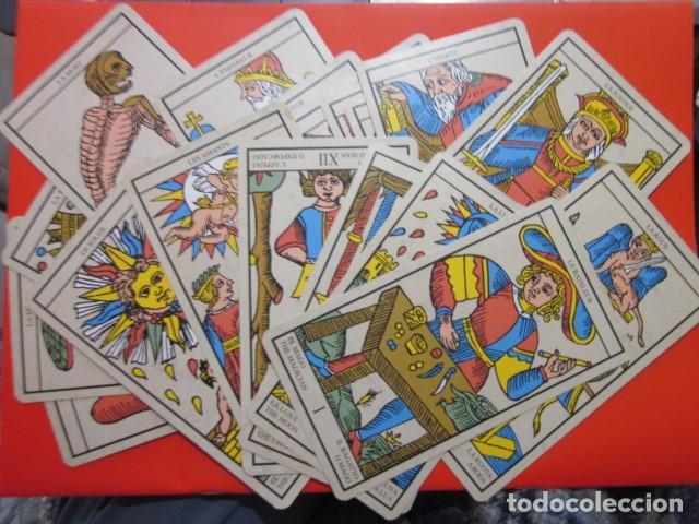 Juegos de mesa: BARAJA TAROT MARSELLA CON SU CAJA 21 CARTAS - Foto 3 - 105580979