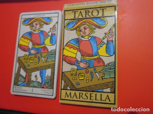 Juegos de mesa: BARAJA TAROT MARSELLA CON SU CAJA 21 CARTAS - Foto 4 - 105580979