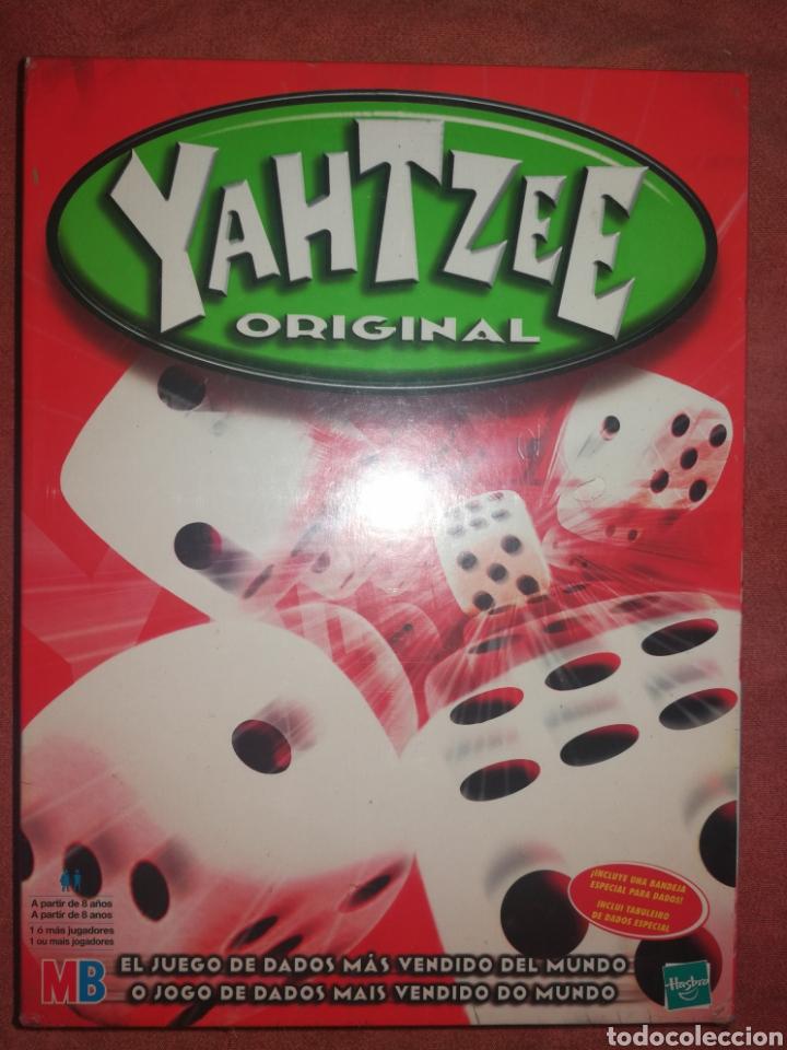 Yahtzee Original Hasbro Mb El Juego De Dados Comprar Juegos De