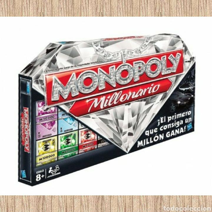 Juego De Mesa Monopoly Millonario Nuevo Precin Comprar Juegos De