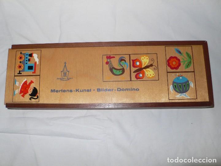 DOMINÓ INFANTIL EN MADERA (Juguetes - Juegos - Juegos de Mesa)