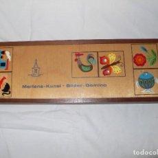 Juegos de mesa: DOMINÓ INFANTIL EN MADERA. Lote 105719435