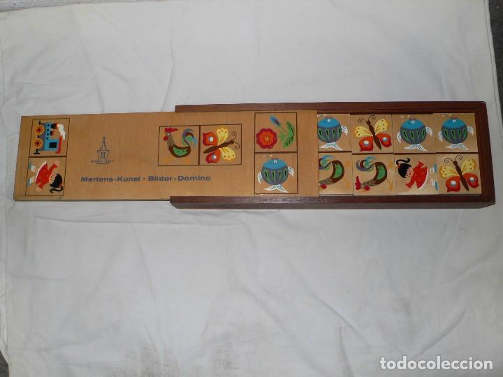 Juegos de mesa: DOMINÓ INFANTIL EN MADERA - Foto 2 - 105719435