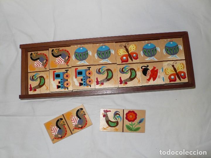 Juegos de mesa: DOMINÓ INFANTIL EN MADERA - Foto 3 - 105719435