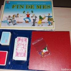 Juegos de mesa: FIN DE MES - MB. Lote 235139730