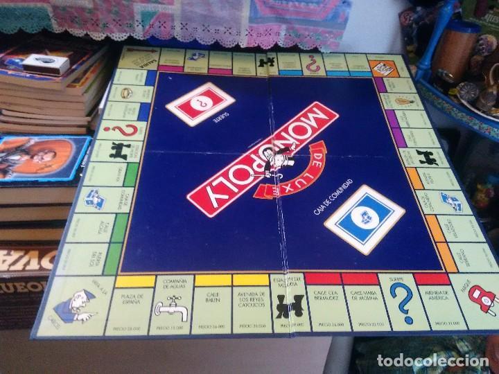 Monopoly De Luxe De Parker Comprar Juegos De Mesa Antiguos En