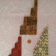 Juegos de mesa: LOTE DE DOMINO DOMINO ANTIGUOS. Lote 105877767