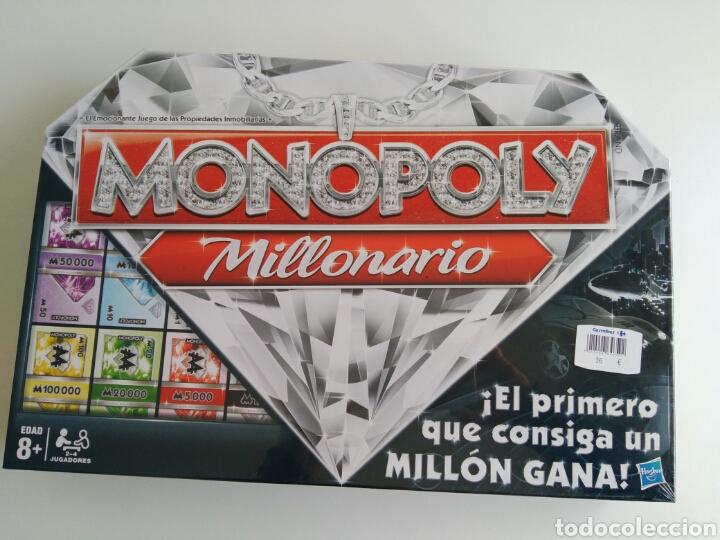 Monopoly Millonario Hasbro Precintado Comprar Juegos De Mesa