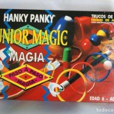 Juegos de mesa: HANKY PANKY JUNIOR MAGIC MAGIA PASO A PASO AÑO 1978. Lote 105933043