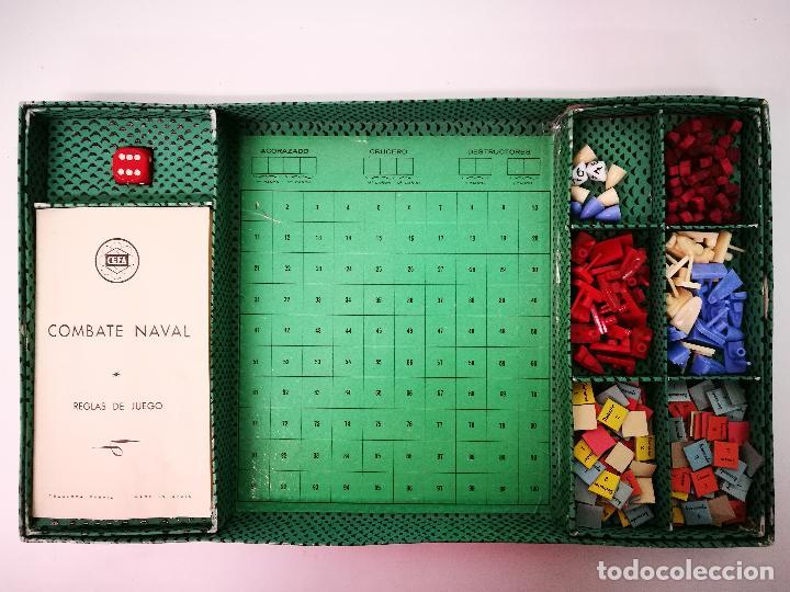 Juegos de mesa: COMBATE NAVAL,CEFA.JUEGO DE MESA AÑOS 50 - Foto 4 - 106005979