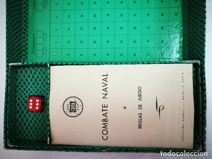 Juegos de mesa: COMBATE NAVAL,CEFA.JUEGO DE MESA AÑOS 50 - Foto 5 - 106005979