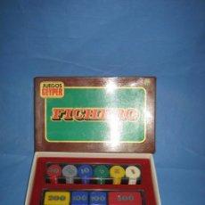 Juegos de mesa: J. FICHERO DE JUEGOS GEYPER. COMPLETO. NO JUGADO AÑOS 70 O 80. Lote 106006935