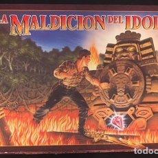 Juegos de mesa: JUEGO DE MB LA MALDICION DEL IDOLO DE 1990. Lote 106066043