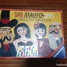 Juegos de mesa: BARRICADA JUEGO DE MESA O TABLERO BOARDGAME KREATEN. Lote 106097483