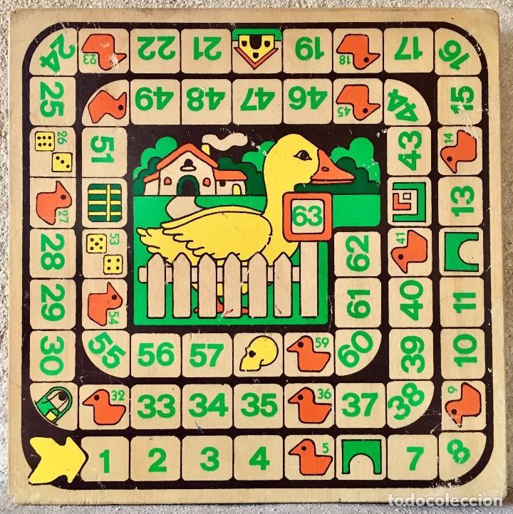 Peque o tablero de parch s y juego de la oca comprar juegos de mesa antiguos en todocoleccion - La oca juego de mesa ...