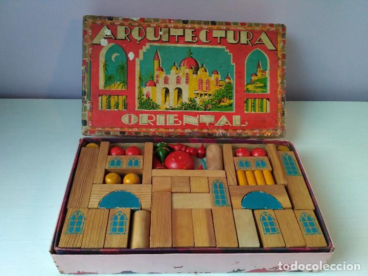 Antiguo Juego De Mesa Construccion Madera Arqui Comprar Juegos De