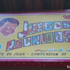 Juegos de mesa: JUEGOS REUNIDOS N 40 GEYPER. Lote 106618207