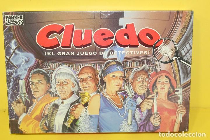 JUEGO DE MESA - CLUEDO DE HASBRO AÑO 96 - COMPLETO (Juguetes - Juegos - Juegos de Mesa)