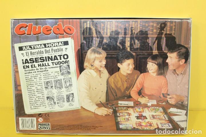 Juegos de mesa: JUEGO DE MESA - CLUEDO DE HASBRO AÑO 96 - COMPLETO - Foto 2 - 106665955