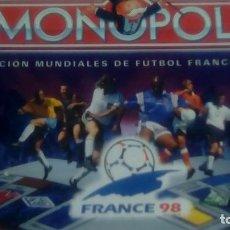 Juegos de mesa: JUEGO MONOPOLY MUNDIAL FRANCIA COLECCION. Lote 106683143