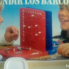 Juegos de mesa: JUEGO DE BARCOS, HUNDIR LA FLOTA. Lote 106683195