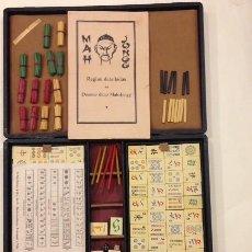 Juegos de mesa: ANTIGUO JUEGO DE DOMINO CHINO MAH-JONGG. Lote 107029039