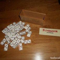 Juegos de mesa: DOMINÓ FUNDADOR DOMECQ. FABRICADO POR LOFFER. AÑOS 60 B.E.. Lote 107041159