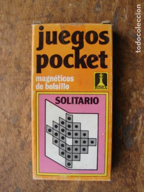 Juegos Pocket Juego Del Solitario Rima Comprar Juegos De Mesa